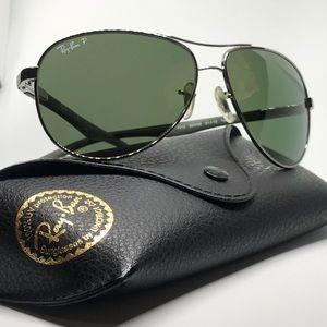 Sunglasses Ray-Ban Carbon Fibre Polarized